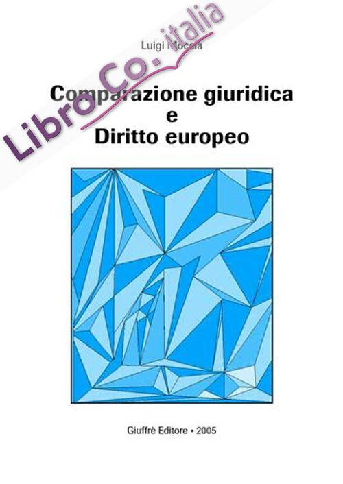 Comparazione giuridica e diritto europeo