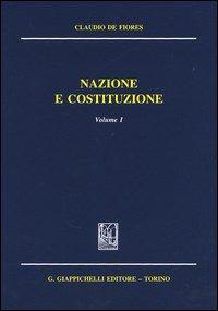 Nazione e costituzione