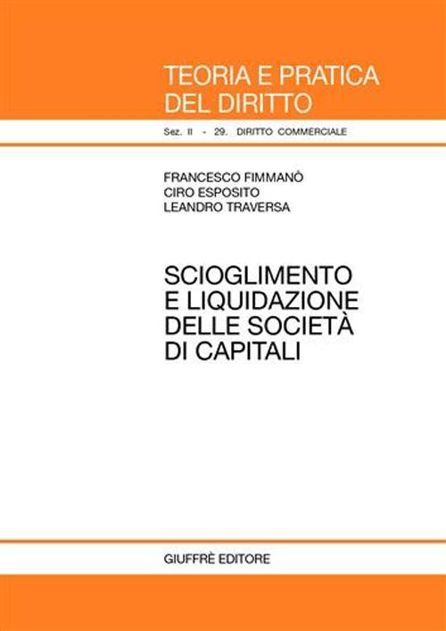 Scioglimento e liquidazione delle società di capitali.