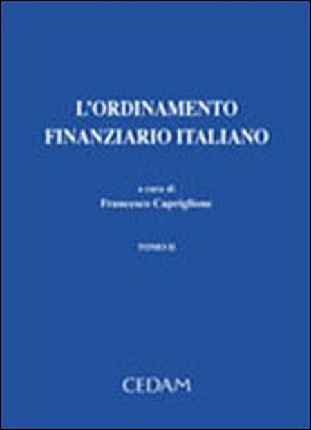 L'ordinamento finanziario italiano.