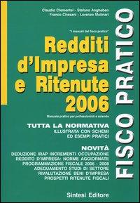 Redditi d'impresa e ritenute 2006