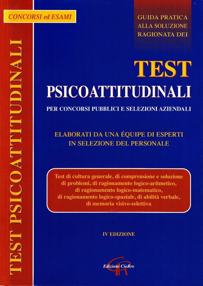Test psicoattitudinali