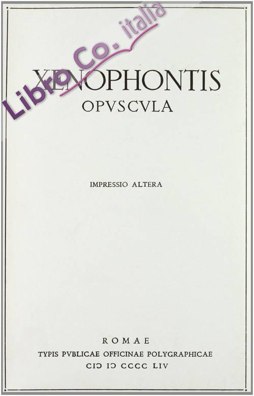 Xenophontis opuscula