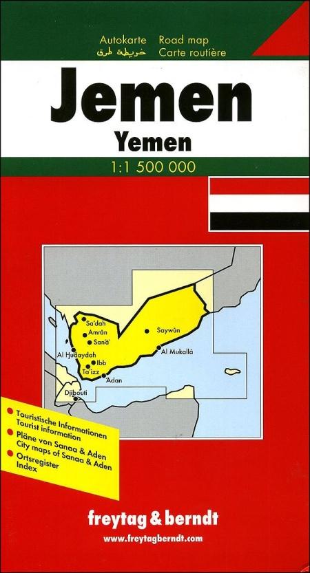Yemen 1:1.500.000