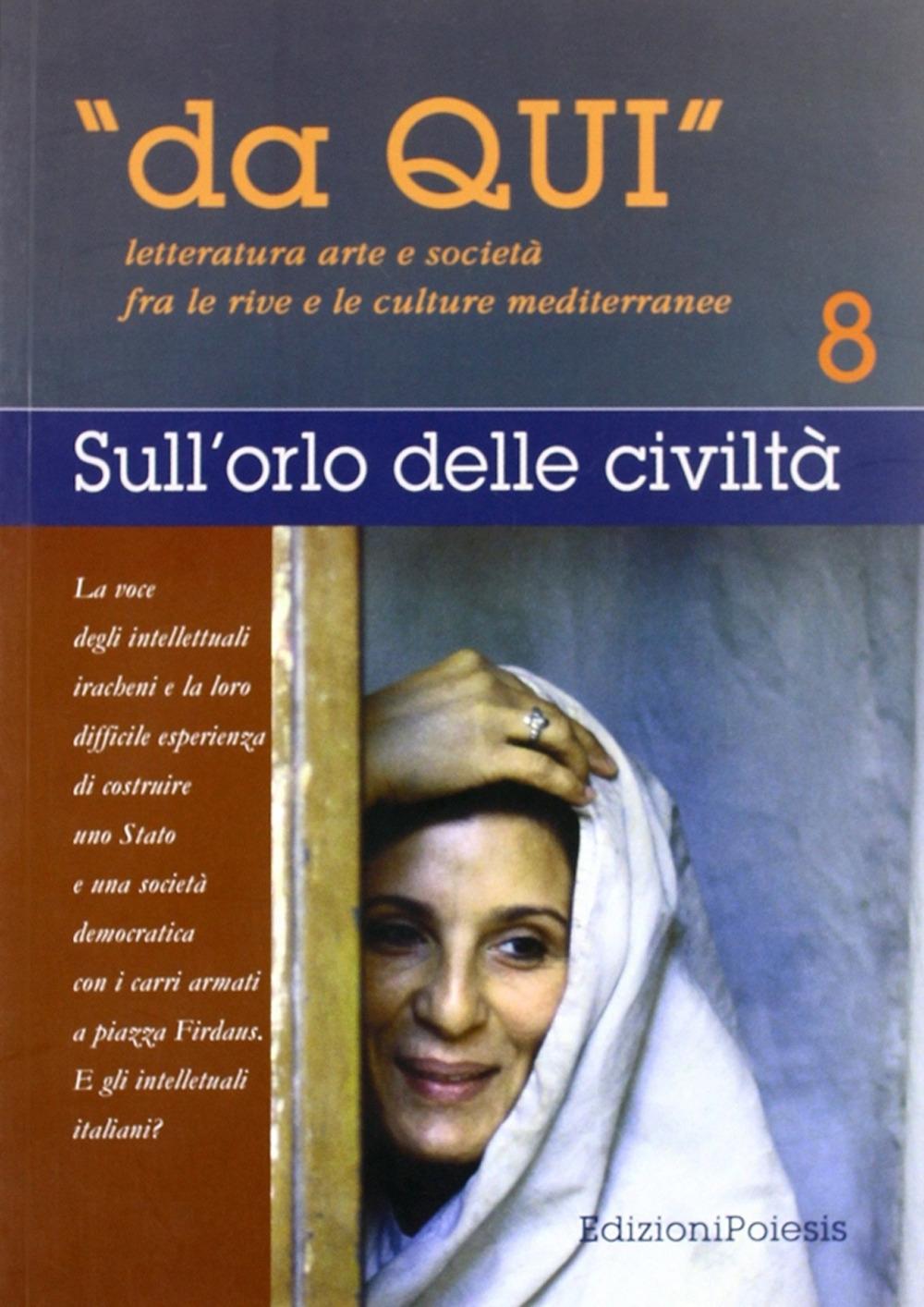 Da qui. Letterature, arti e società fra le culture mediterranee. Vol. 8