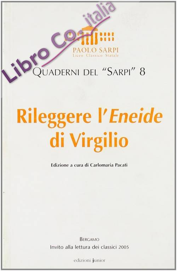 Rileggere l'Eneide di Virgilio
