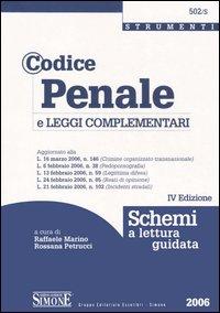 Codice penale e le leggi complementari. Schemi a lettura guidata