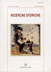 Ricerche Storiche. Nuova serie. Anno XXXV/1. 2005
