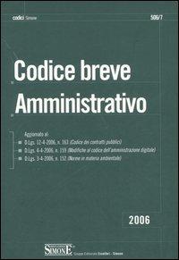 Codice breve amministrativo.