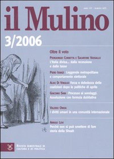 Il Mulino. Vol. 425