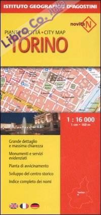Torino 1:16 000. Ediz. Multilingue