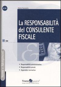 La responsabilità del consulente fiscale