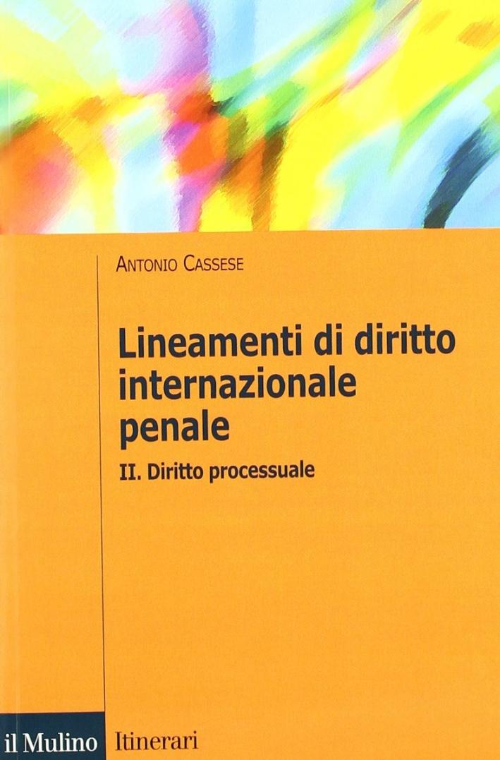 Lineamenti di diritto internazionale penale. Vol. 2: Diritto processuale