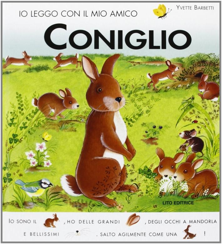 Io leggo con il mio amico coniglio