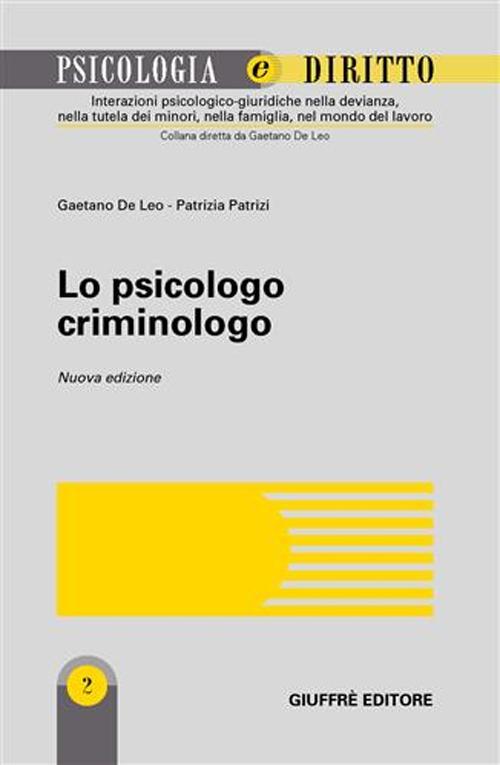 Lo psicologo criminologo