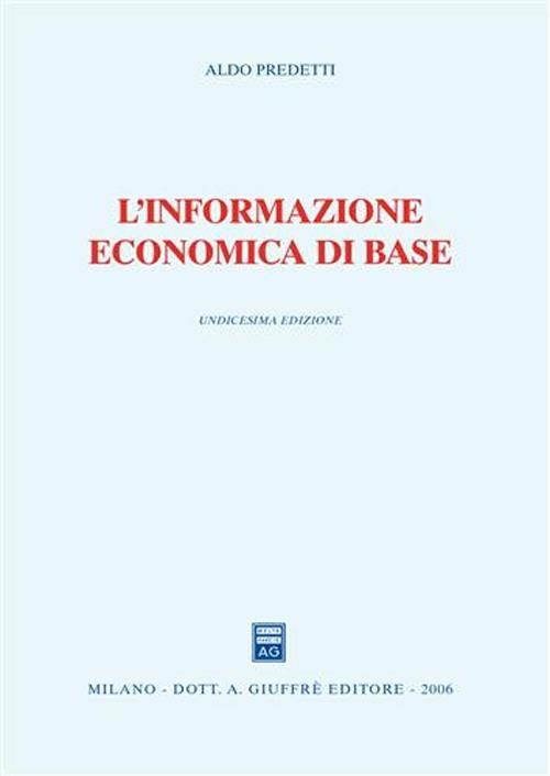 L'informazione economica di base