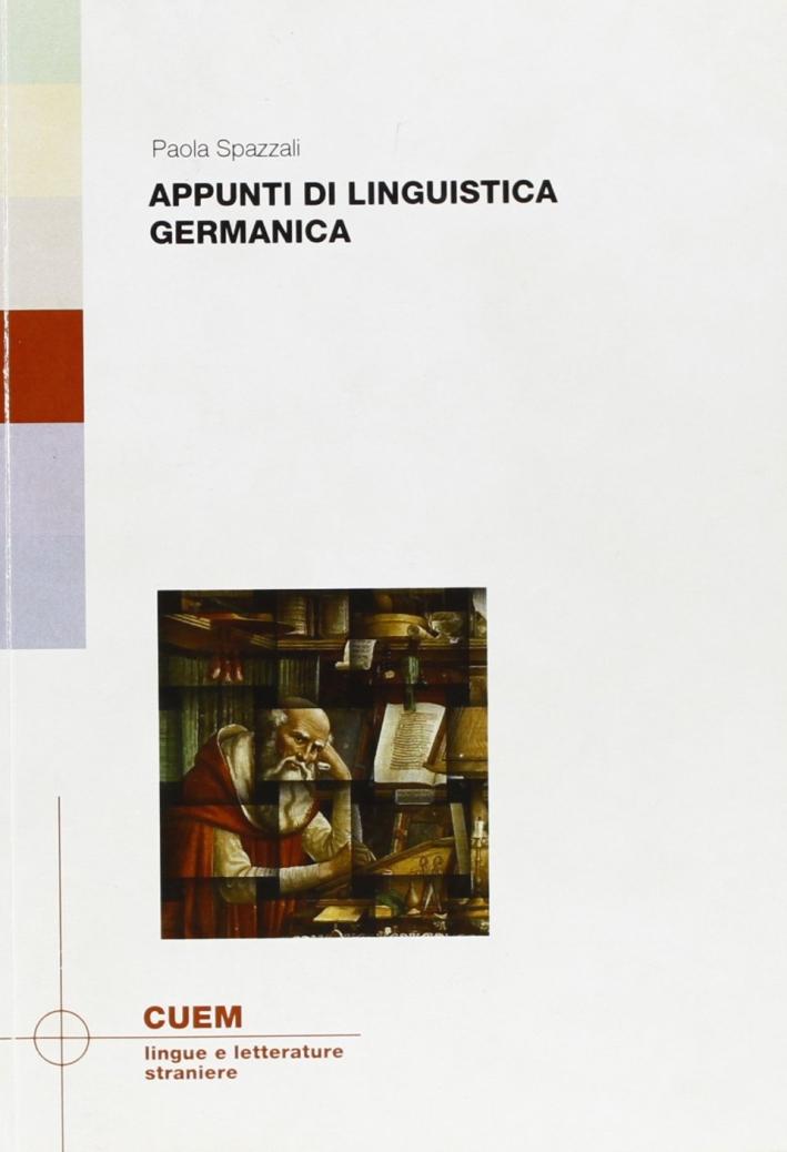 Appunti di linguistica germanica