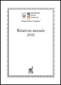 Relazione annuale 2002.