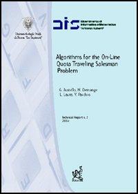 Algorithms for the on-line quota traveling salesman problem