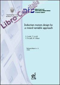 Induction motors design by a mixed-variable approach