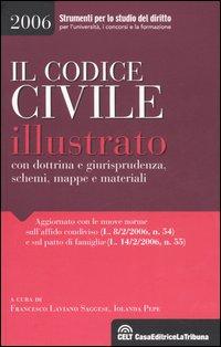 Il codice civile illustrato con dottrina e giurisprudenza, schemi, mappe e materiali