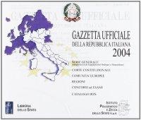 Gazzetta ufficiale della Repubblica Italiana (2004). Versione monoutenza. CD-ROM