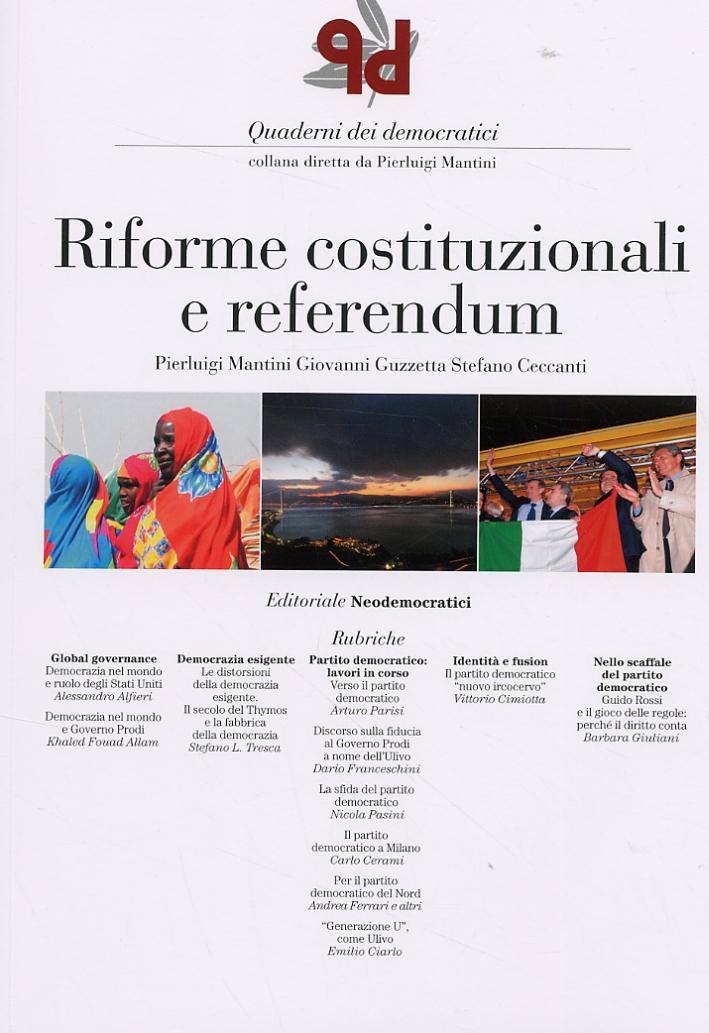 Riforme Costituzionali e Referendum