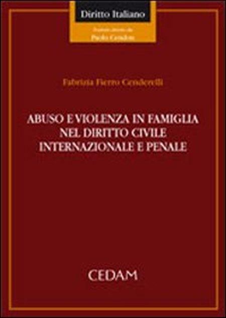 Abuso e violenza in famiglia nel diritto civile internazionale