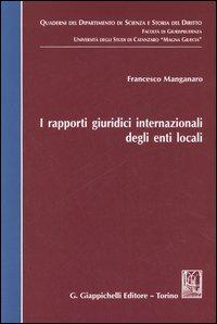 I rapporti giuridici internazionali degli enti locali