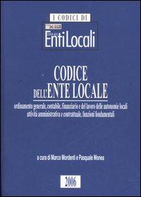 Codice dell'ente locale