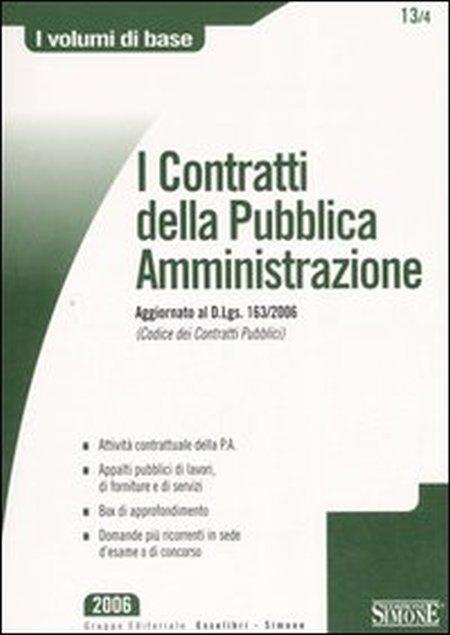 I contratti della pubblica amministrazione
