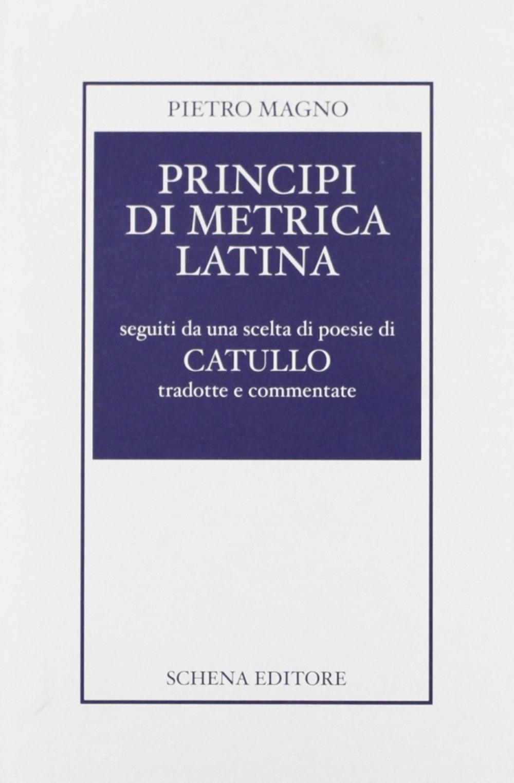 Principi di metrica latina.