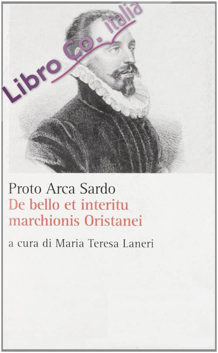 De bello et interitu marchionis Oristanei