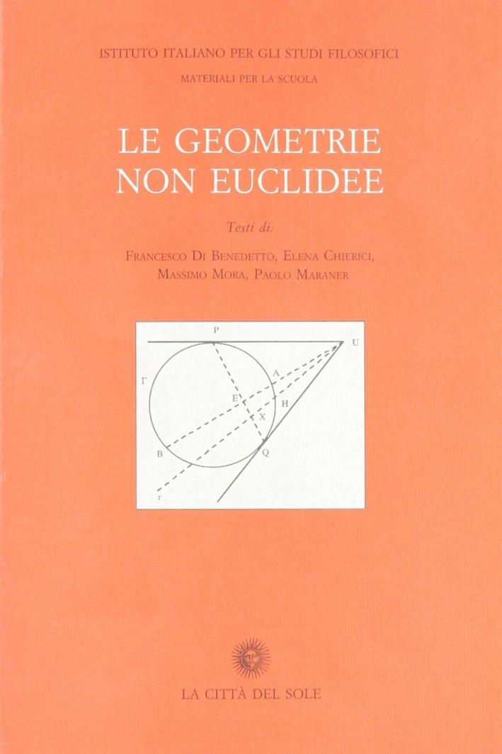 Le geometrie non euclidee.