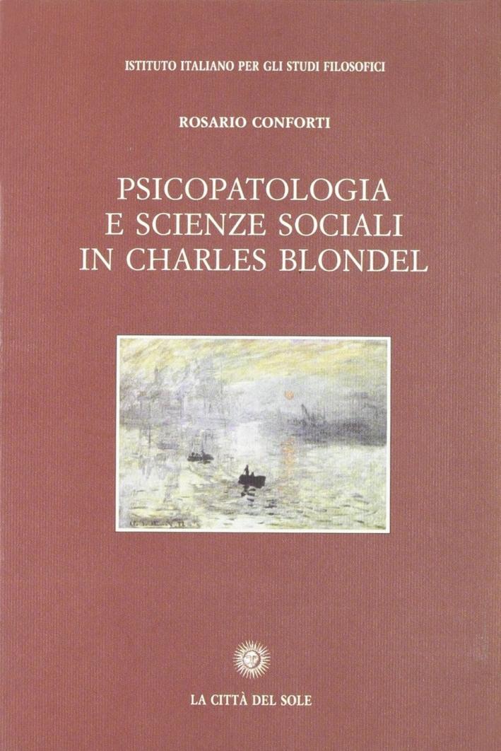 Psicopatologia e scienze sociali in Charles Blondel.