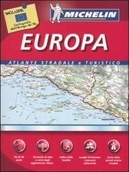 Europa. Atlante stradale e turistico