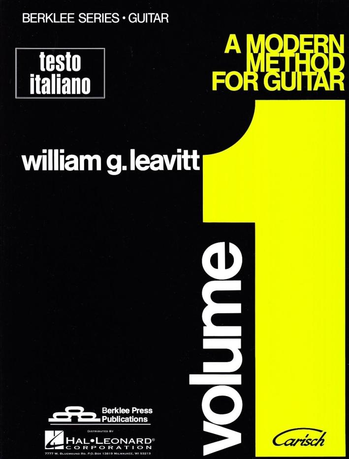 A Modern method for guitar. Vol. 1