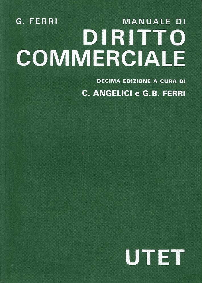 Diritto Commerciale.