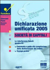 Dichiarazione unificata 2005