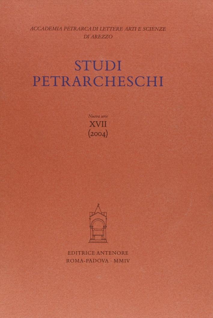 Studi petrarcheschi. Vol. 17