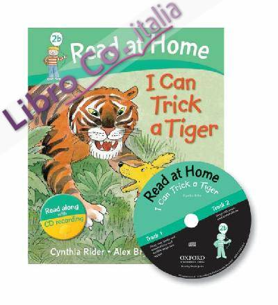 Read at Home: 2b: I Can Trick a Tiger Book + CD