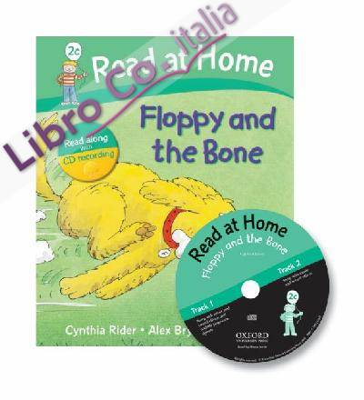 Read at Home: 2c: Floppy and the Bone Book + CD