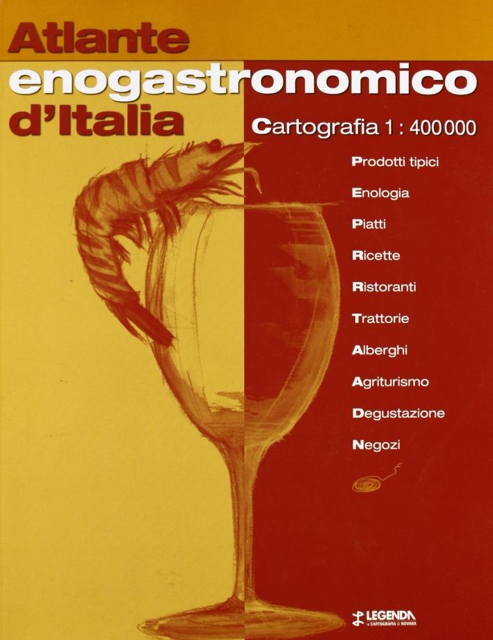Atlante enogastronomico d'Italia 1:400.000
