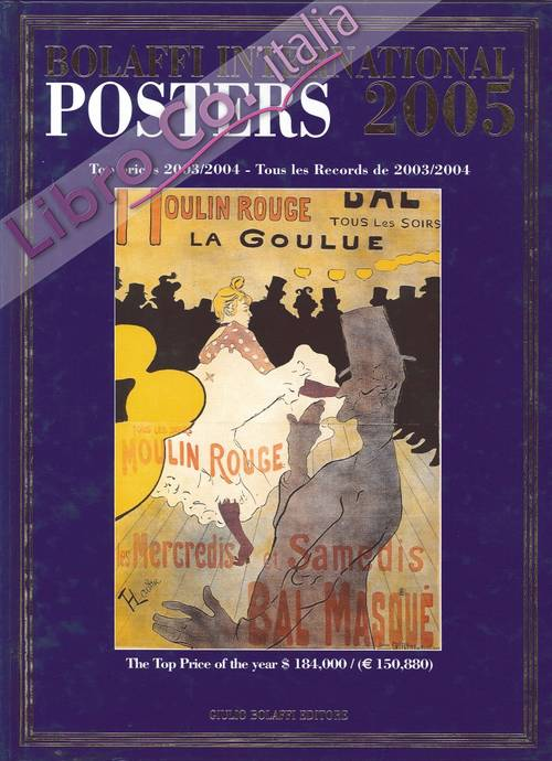 Bolaffi International Posters 2005. Top Prices 2004