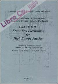 GaAs MMIC front-end electronics for high energy physics
