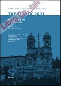 Tableaux 2003. Position papers and tutorial (Rome, 9-12 september 2003)