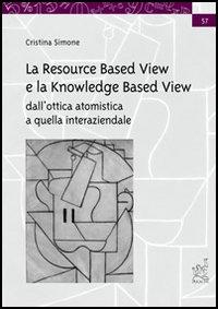La resource based view e la knowledge based view. Dall'ottica atomistica a quella interaziendale
