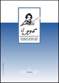 Il 996. Rivista del Centro studi «Giuseppe Gioachino Belli» (2004). Vol. 3