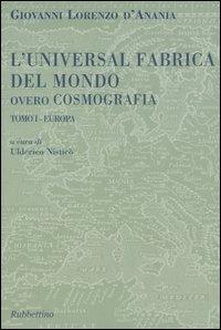 L'Universal Fabrica del Mondo Ovvero Cosmografia. Trattato 1: Europa