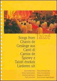 Canti di Taizé. Libro con le parti strumentali